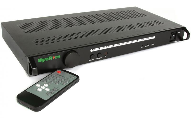104183   Wyrestorm HDMI 11:2 Scaler med RS232 SW-1102
