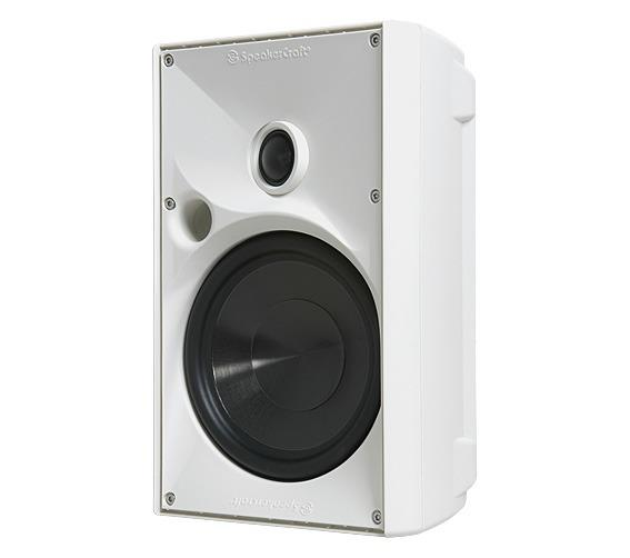 6180611 Core Brands  Speakercraft OE6 ONE WHT, stk. Utendørshøyttaler, pris pr stk