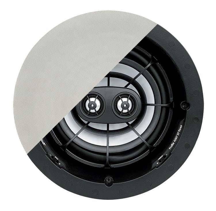 6157603 Core Brands  Speakercraft PROFILE AIM7 DT THREE Rund - Dybde: 114 kutthull: 210