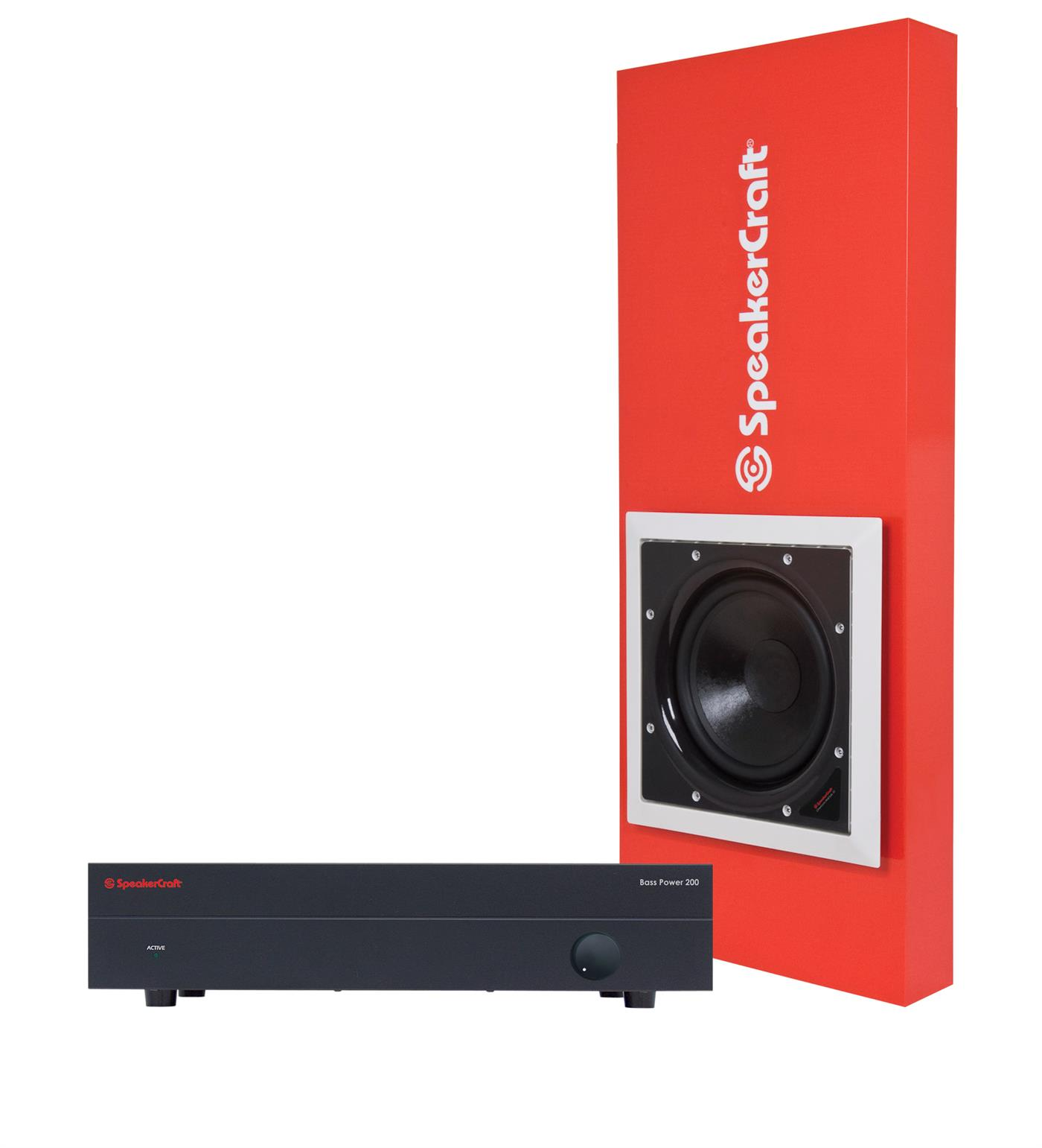 "6167103   Speakercraft Profile Cinema 10 System Sub pakke, 10"" element, 250W forst, kab"