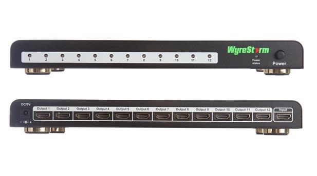 104175   Wyrestorm HDMI HD splitter 1 til 12 SP-0112