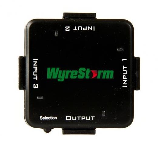 104177   Wyrestorm HDMI Switcher, 3 inn og 1 ut SW-0301-001