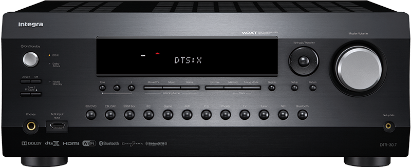 107353   Integra DTR 30.7 AV-RECEIVER DD / DTS / 4K 60hz