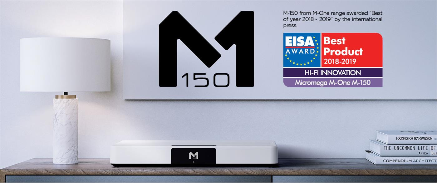 109065   Micromega M One M-150 RAL finish RAL , MARS included, 2 x 150W