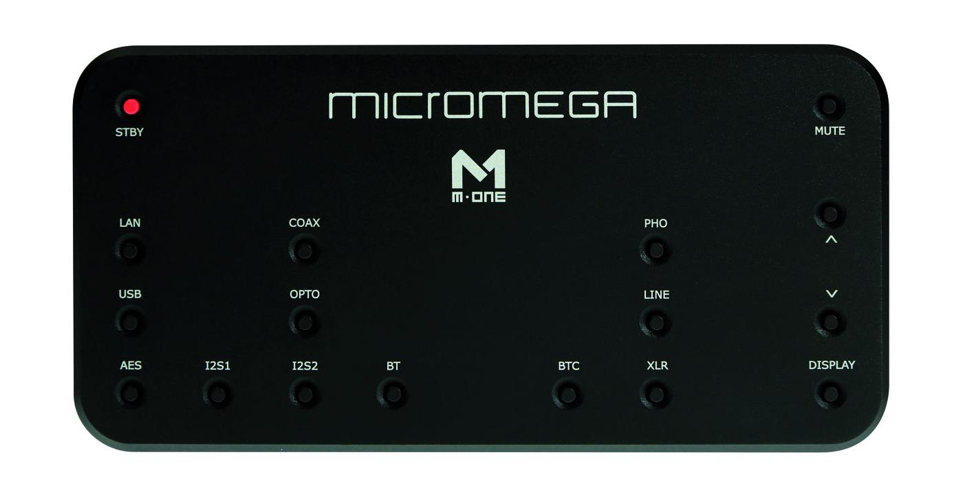 108931   Micromega M One M-150 sort Black anodized, MARS included, 2 x 150W