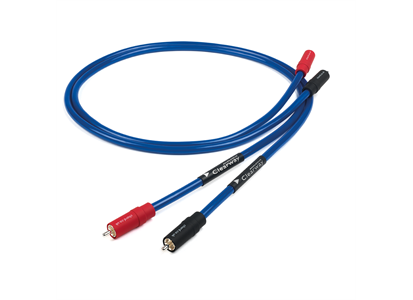 5500376TF   Chord Clearway 2RCA/2RCA 1,2m fly lead Signalkabel RCA - med jordingskabel