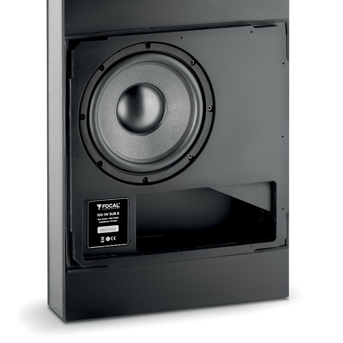"109626   Focal 100 IW Sub 8 In wall subwoofer 8"" in wall sub"